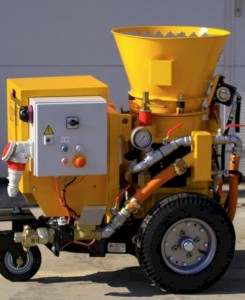 Aliva 237 Shotcrete Spraying Machine