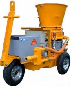 Aliva 252 Shotcrete Spraying Machine