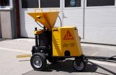 Aliva 257 Shotcrete Spraying Machine