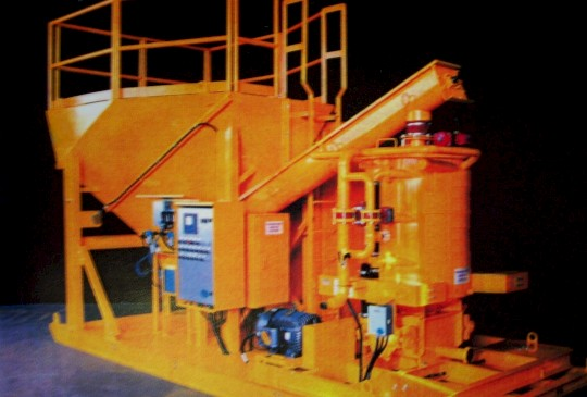 Cemented Rock Fill (SRF) Slurry Mixer/Plant