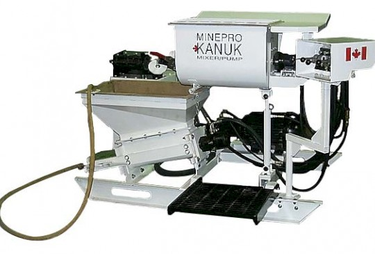 MINEPRO Kanuk Series Grout Mixer or Pump