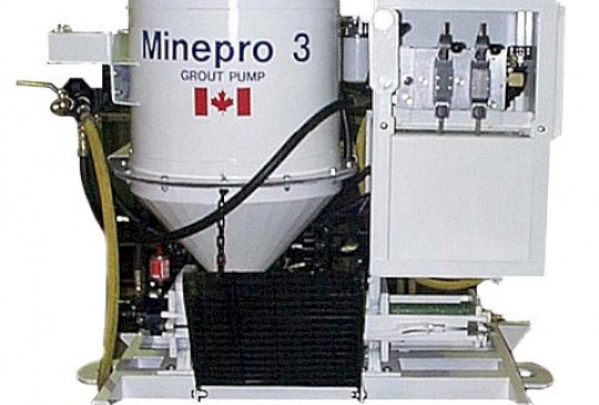 MINEPRO MP3 Series Grout Mixer or Pump