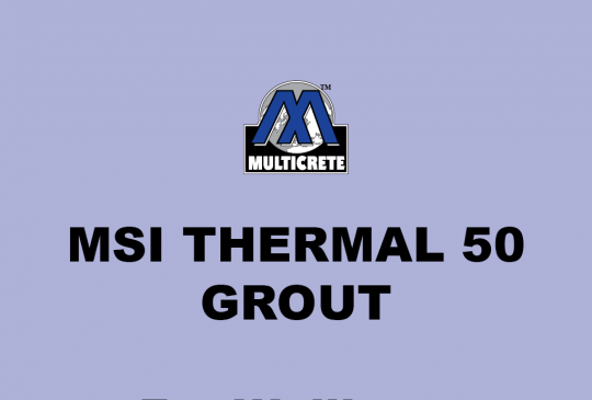Multicrete™ Thermal 50 Grout