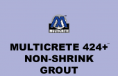 Multicrete 424+™ Non-Shrink Grout