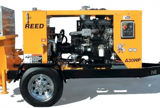 REED A30/A30HP/A40HP Trailer Mounted Concrete Pump