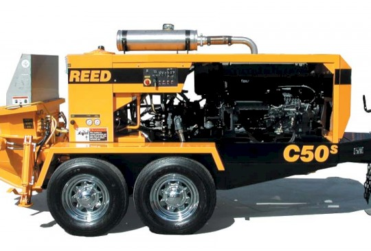 Reed C50S/C50SS/C70S/C70SS/C90S Trailer Mounted Concrete Pumps
