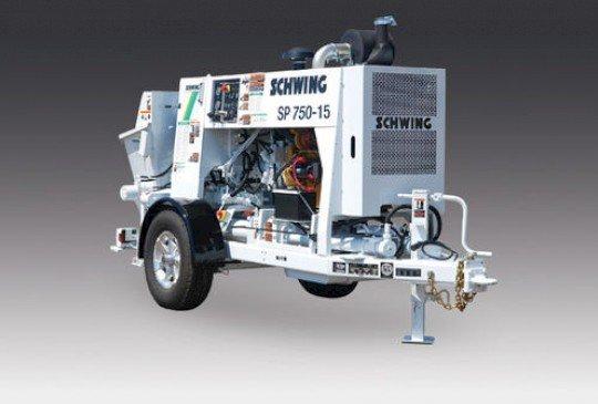 Schwing® Concrete Pumps 750 Series