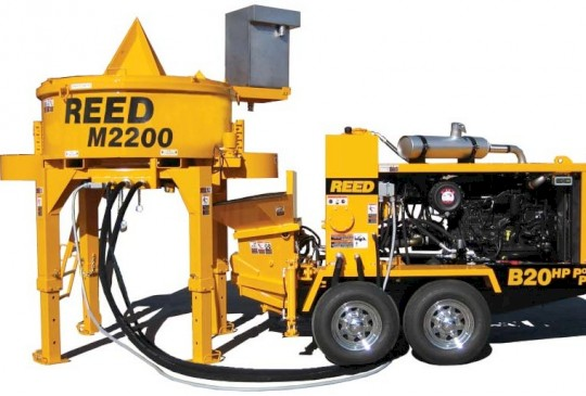 Reed M2200 Heavy-Duty Electric/Hydraulic Power Pan Mixer