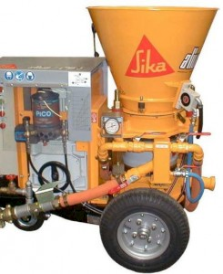Aliva 246.5 Shotcrete Spraying Machine
