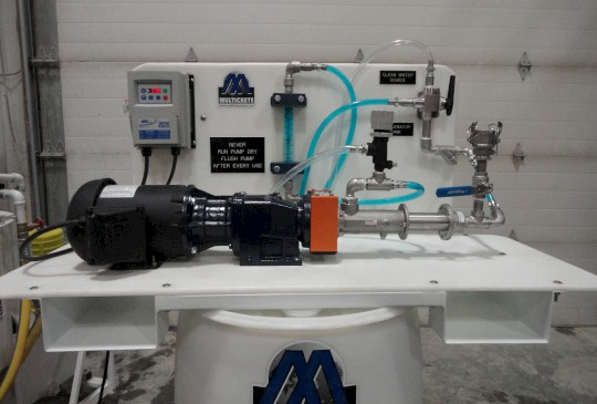 Multicrete™ Air Powered Accelerator Dosing Unit
